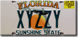 XYZZY license plate