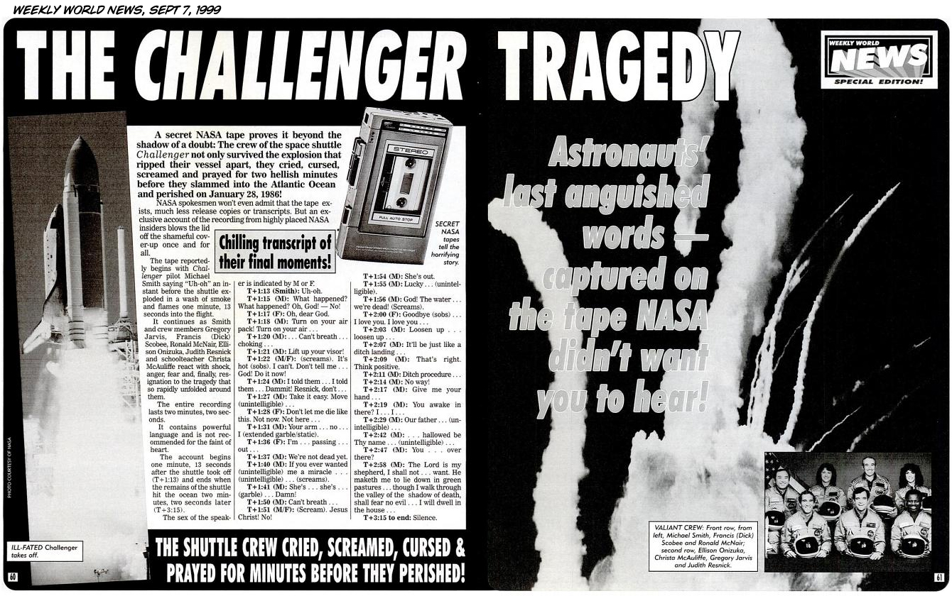 Remains of Challenger Astronauts (page 2) - Pics about space